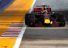 F1, GP Singapore 2017, FP2: Ricciardo davanti a tutti