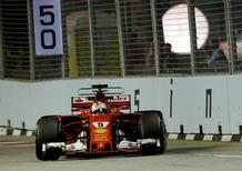 F1, GP Singapore 2017: la Ferrari risorge