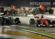 F1, GP Singapore 2017: incidente Ferrari-Verstappen, nessuna penalità
