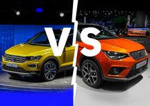 Volkswagen T-Roc vs. Seat Arona | Così uguali, così diverse