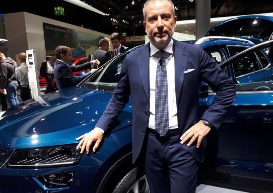 Salone di Francoforte 2017, Cimmino, Skoda: «Kodiaq, la domanda supera l'offerta»