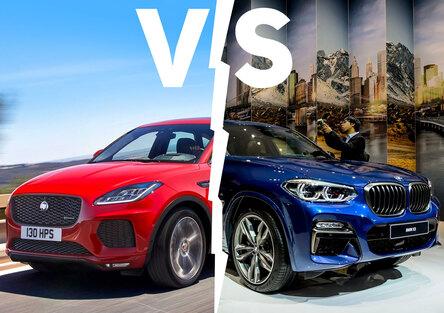 BMW X3 vs. Jaguar E-Pace | Misure diverse, ma quanta tecnologia! [Video]