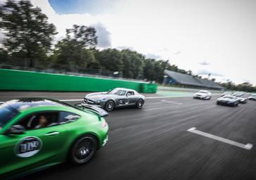 Performance Day Anniversary 50 AMG, Monza: le immagini più belle