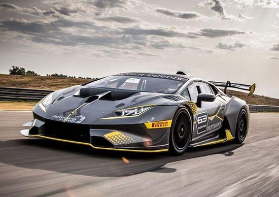 Lamborghini Huracan Super Trofeo EVO, squalo da pista