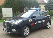 Hyundai ix35 Fuel Cell, ecco quella dei Carabinieri