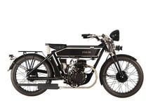 The Black Duglas Motorcycles Co. Countryman Deluxe 125