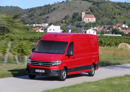 Volkswagen Crafter: arrivano la trazione posteriore e 4MOTION per carichi ancora maggiori