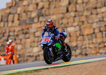 MotoGP 2017. Vinales conquista la pole ad Aragon