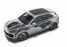Porsche Cayenne, 3^ generazione: tecnologia nuova sotto il vestito, Parte 2 - Telaio