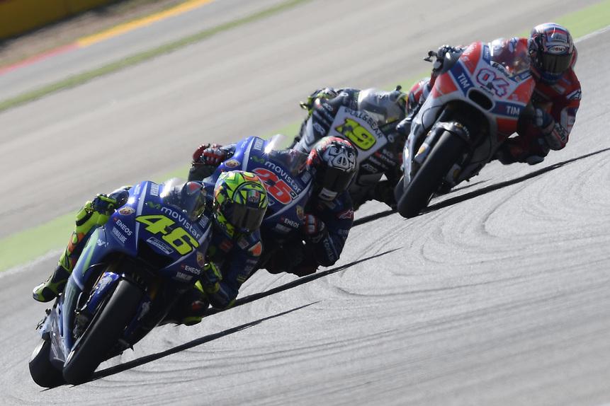 Gallery MotoGP. Le foto più belle del GP di Aragón 2017