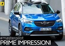Opel Grandland X, declinazione tedesca dell'auto dell'anno 2017 [Video primo test]