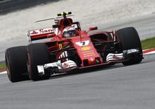 F1, GP Malesia 2017, FP3: Raikkonen al top