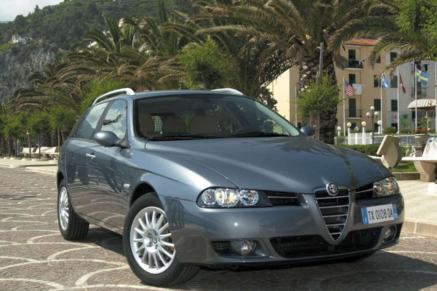 listino alfa romeo 156 sportwagon 2003 07 usate. Black Bedroom Furniture Sets. Home Design Ideas