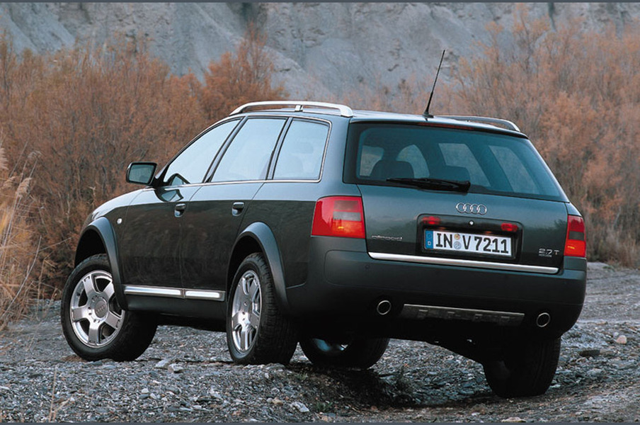 Audi A6 allroad 4.2 V8 tiptronic (3)