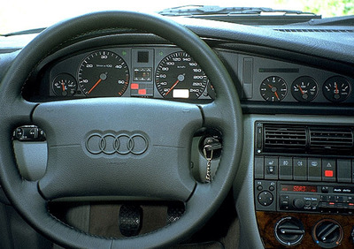 c4 4a BJ 1994-1997 tutta GARAGE AUTO TELONE * Audi a6 Avant