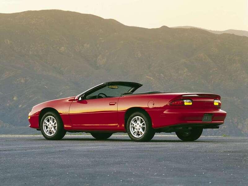 Chevrolet Camaro Cabrio (1998-02) (2)
