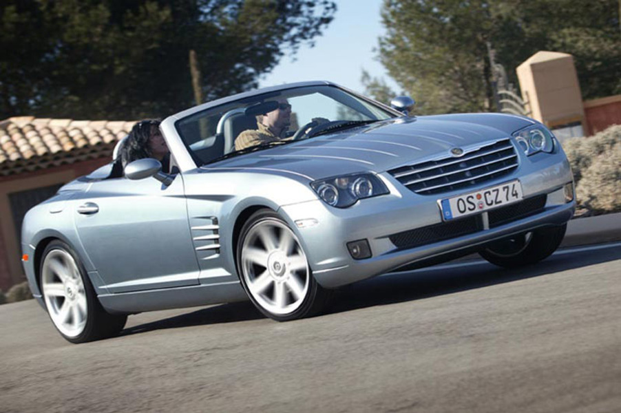 listino chrysler crossfire cabrio 2004 08 usate. Black Bedroom Furniture Sets. Home Design Ideas