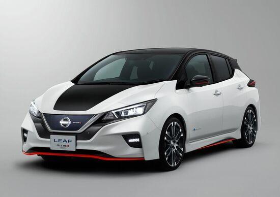 Nissan Leaf Nismo Concept, debutto al Salone di Tokyo 2017