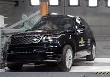 Range Rover Velar al top nei crash test NCap