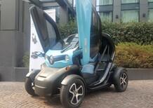 Enegan con Renault Twizy per un pacchetto fornitura energia e mobilità 100% green