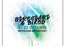 Pogliani Street Art & Bikes, il weekend del 22 ottobre