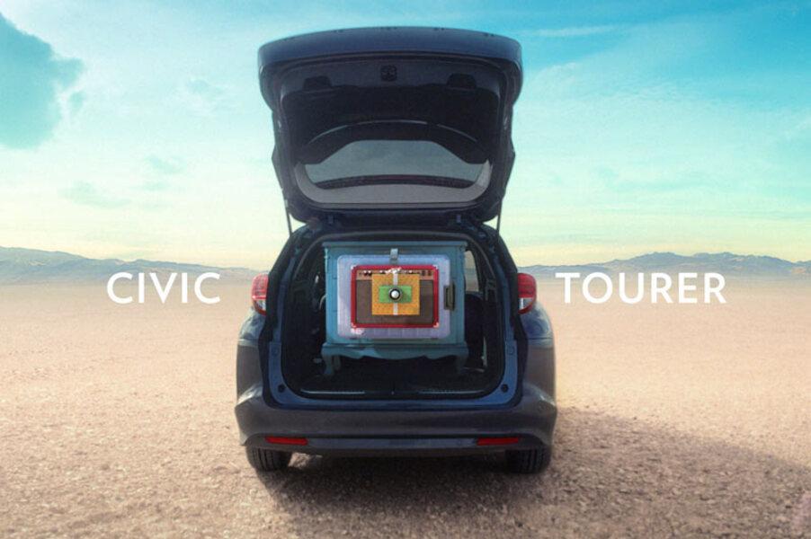 Honda Civic Station Wagon (2014->>) (4)