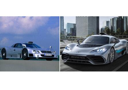 Confronti impossibili, Mercedes: CLK GTR Vs AMG Project One