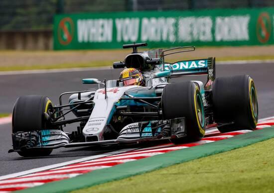 F1, GP Giappone 2017: pole per Hamilton. Terzo Vettel