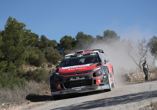 """WRC 2017/Citroen. Spagna. Interrompiamo le trasmissioni: È """"Uragano"""" Meeke e Citroen C3!"""""""