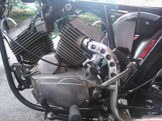 Il motore dopo il restauro
