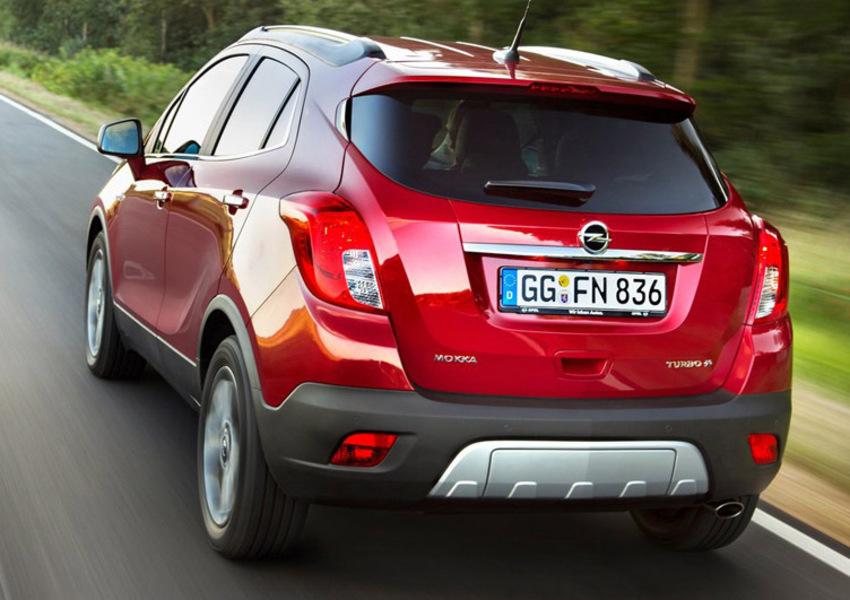 Opel Mokka X 1.6 CDTI Ecotec 136CV 4x2 Start&Stop Vision (5)
