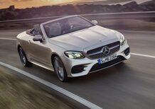 Mercedes Classe E Cabrio, incontro tra Classe C e S [Video]