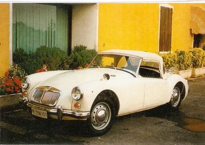 MGA d'epoca del 1961 a Milano d'epoca
