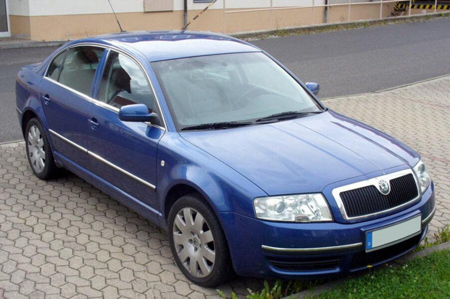 Skoda Superb (2002-08) (3)