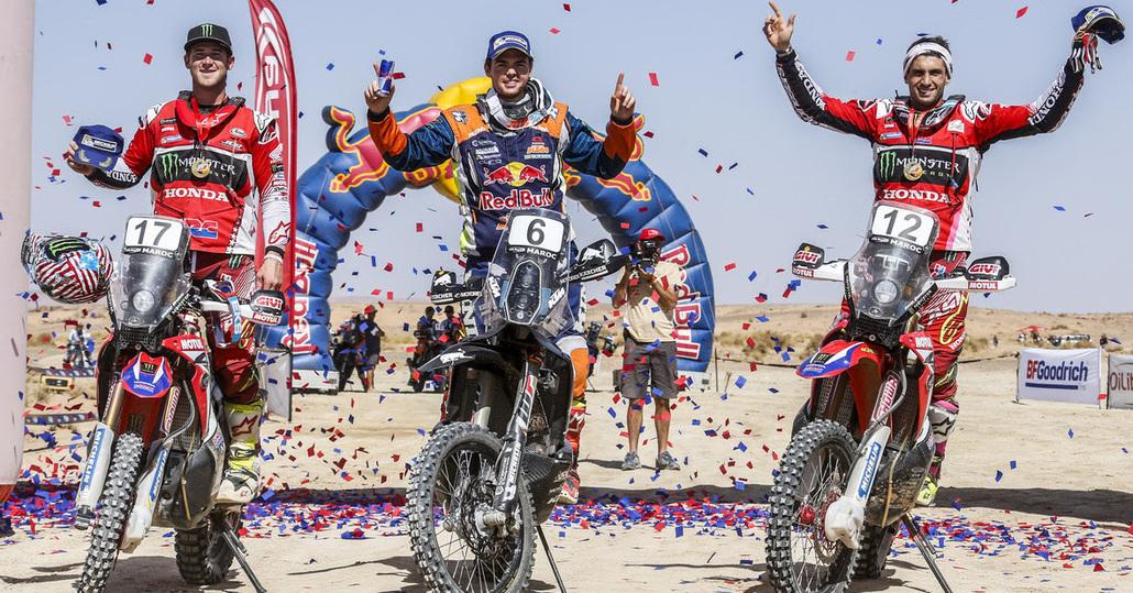 OiLibya Rally. Quintanilla (Husqvarna) e Al-Attiyah (Toyota) campioni del mondo