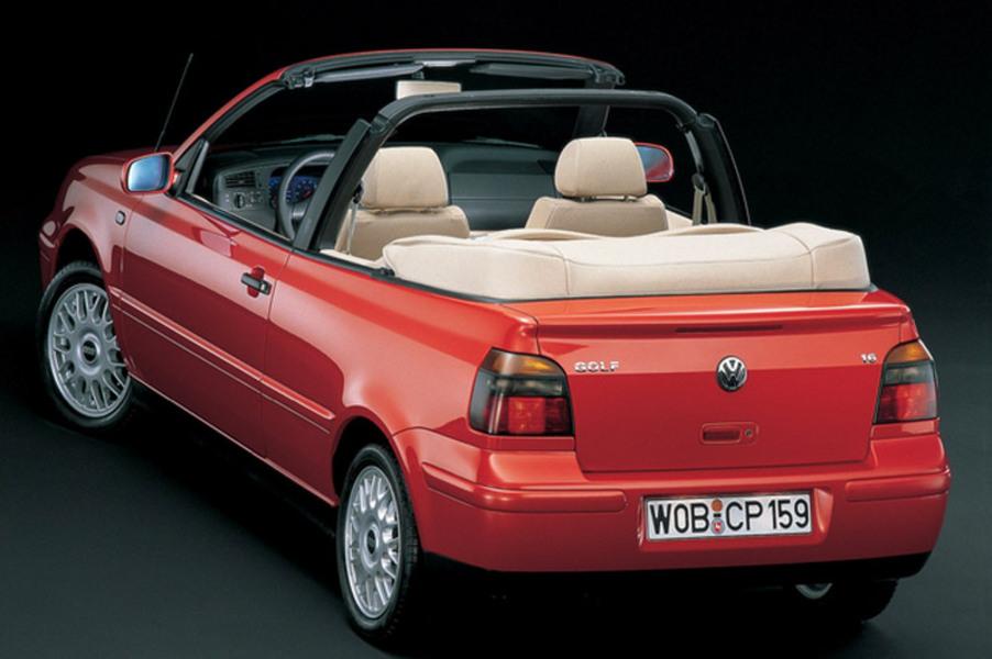 Volkswagen Golf Cabrio (1998-02) (3)