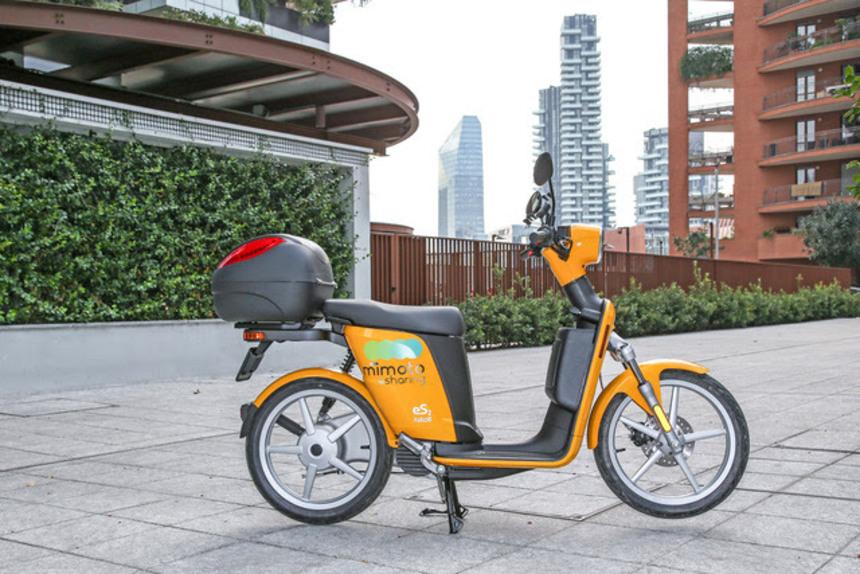 MiMoto, lo scooter sharing ecologico di Milano (3)
