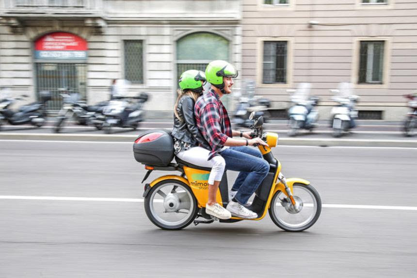 MiMoto, lo scooter sharing ecologico di Milano