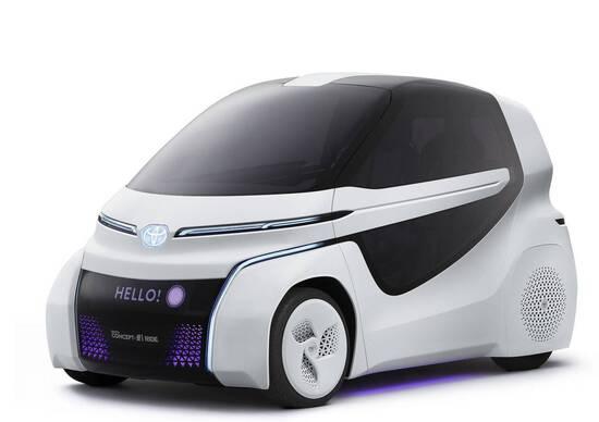 Toyota, la famiglia Concept-i al Salone di Tokyo
