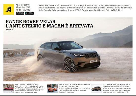 Magazine n°119: scarica e leggi il meglio di Automoto.it