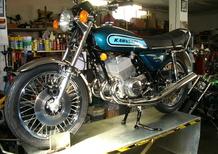 Restaurando, puntata 15: Kawasaki 400 Mach II 1974