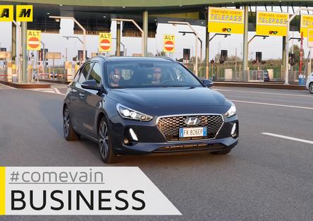 Hyundai i30 Wagon, come va in.. Business [video]