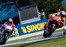 "MotoGP 2017. Marquez: ""Mi aspettavo Dovi così veloce"""