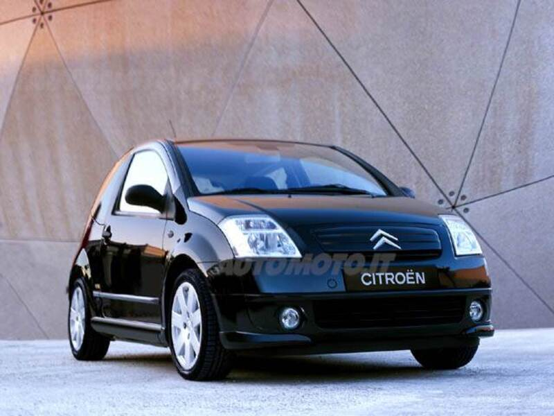 citroen c2 1 4 vtr 09 2005 11 2008 prezzo e scheda tecnica. Black Bedroom Furniture Sets. Home Design Ideas