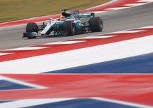 F1, GP USA 2017, FP2: Hamilton davanti a tutti