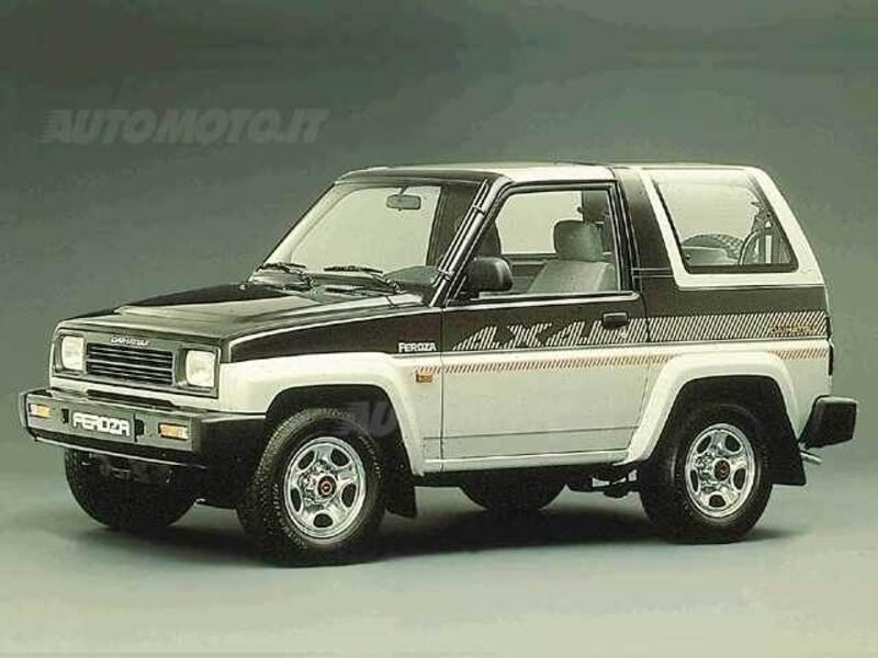 Daihatsu Feroza 1.6i cat Resin-top Full-Time City