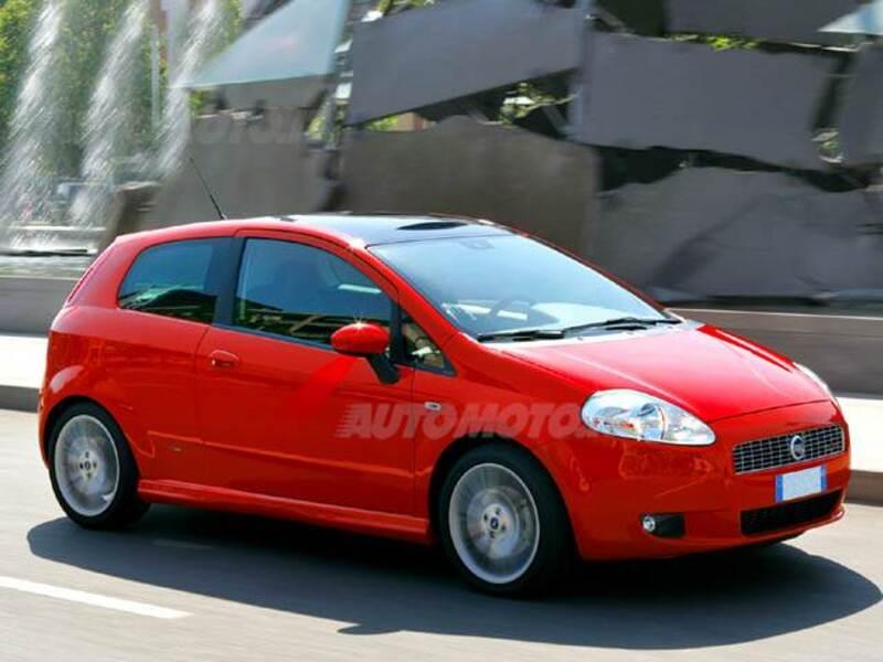 Fiat Grande Punto 1.4 3 porte Speed