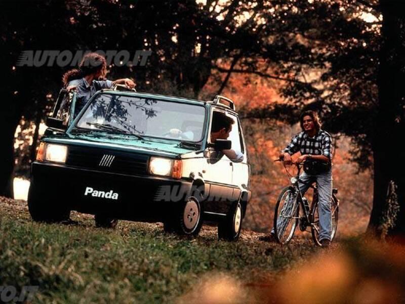Fiat Panda 1100 i.e. cat 4x4 Climbing