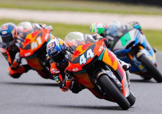 Vittoria e titolo per Mir in Moto3. Oliveira vince in Moto2