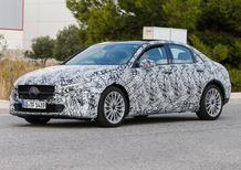 Nuova gamma Mercedes: immagini spia